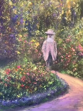 Le Maître en son jardin