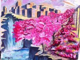 Quand les cerisiers sont en fleurs