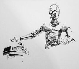 robot star war