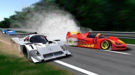 Problème moteur au Mans