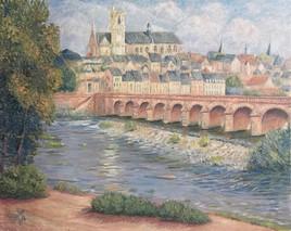 Matinée à la Loire, Nevers