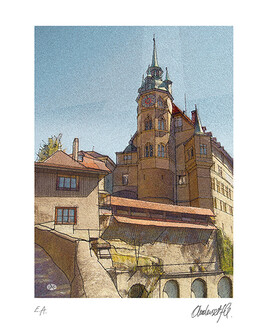 Fribourg, Hôtel de Ville