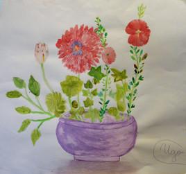 Bouquet de fleur par Ugo 9 ans