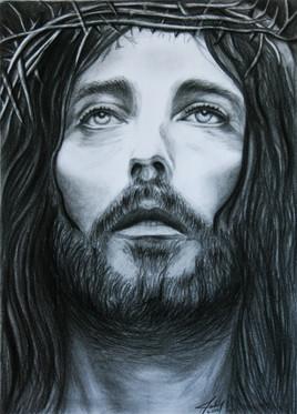 JESUS CHRIST FUSAIN