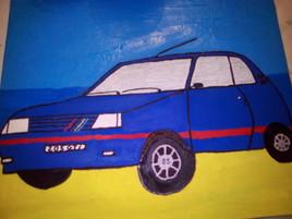 205 Gti(bleu)