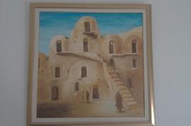 Habitations troglodytes de Matmata - Tunisie