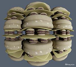Burger fractal