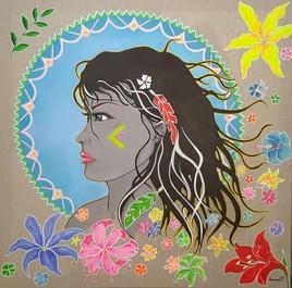 La Marianne aux fleurs