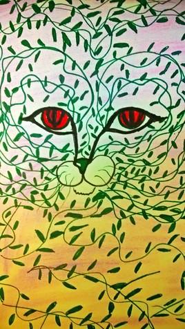 le chat végétal