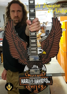 guitare HarleyDavidson
