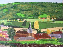 Village des pyrénées