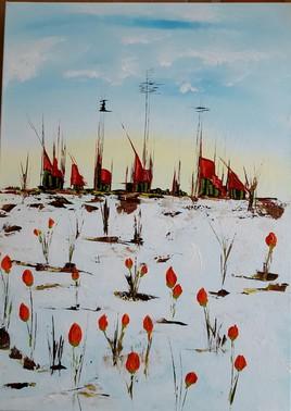 les tulipes perce-neige