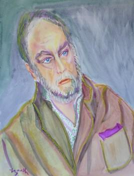 Portrait d'homme .