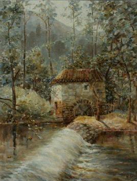 Le moulin de Confolens