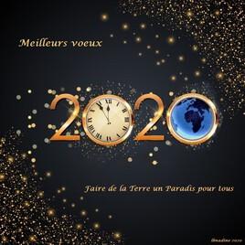 mes meilleurs Voeux 2020..