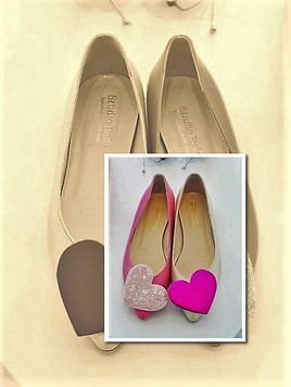 Chaussures roses