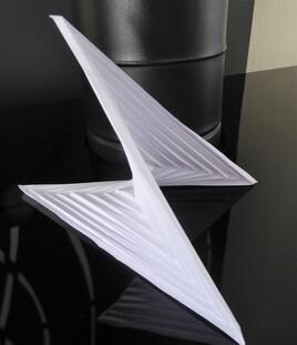 Tesselation en origami