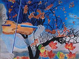 Un violon de l'automne