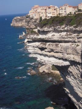 La ville sur la falaise (Bonifacio)
