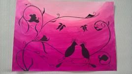 Les oiseaux amoureux