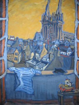 fenêtre sur Saint Corentin