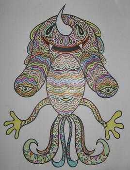 Créature bizarre 8