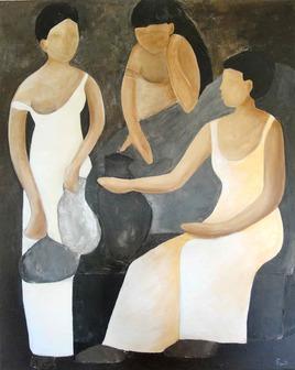 Trois autres femmes à la fontaine