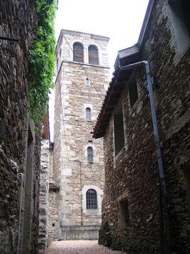 La tour de Sainte Croix en Jarez