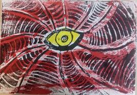 l'oeil jaune