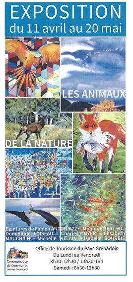"""Expo """"les animaux de la nature """""""