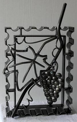 """""""Grappe De Raisin"""" (A accrocher au mur ou à poser)."""