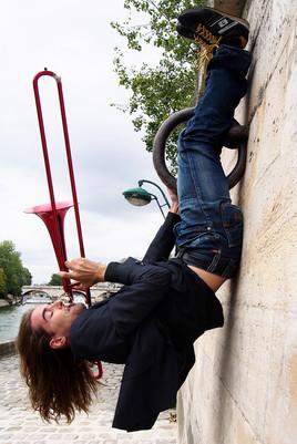 Paris upside down