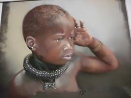 jeune enfant Himba