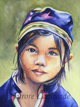 Doux regard du Vietnam