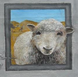 histoire de mouton ( détail )