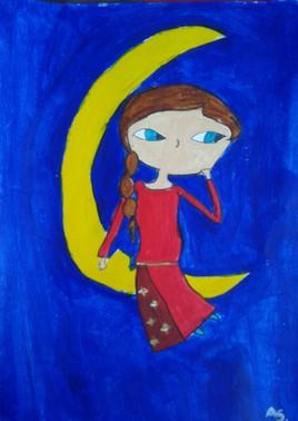 la rêveuse - assia 7 ans