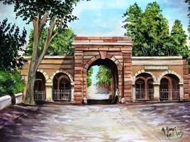 Porte d'Alger ( Cherchell)