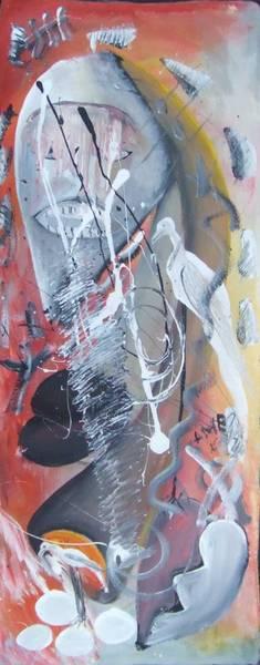 Portrait abstrait : Colère