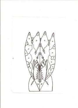 Dessin abstrait 16