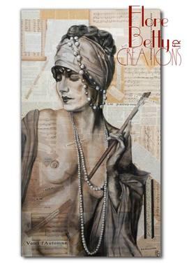 Tableau, portrait de Alice Wilkie 1930