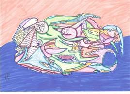 Dessin abstrait 85