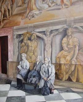 Reposo en el Vaticano