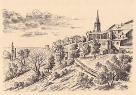 Le vallon de Gensac (33)