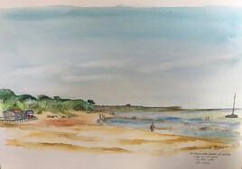 plage de la Cèpe en mai 2019