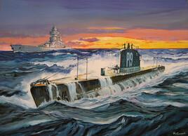 Le sous-marin Junon.