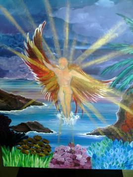 La crique de l'ange