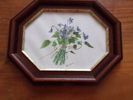 un bouquet de violette