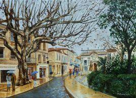 Pluie en Avignon