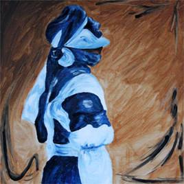 Touareg bleu