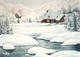 L'hiver au chalet